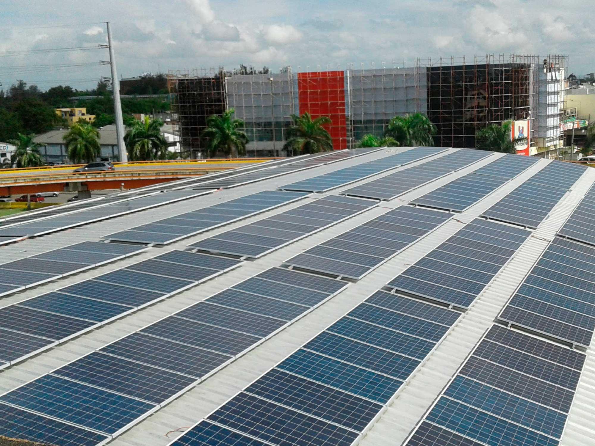 instalacion modulos solares colegio