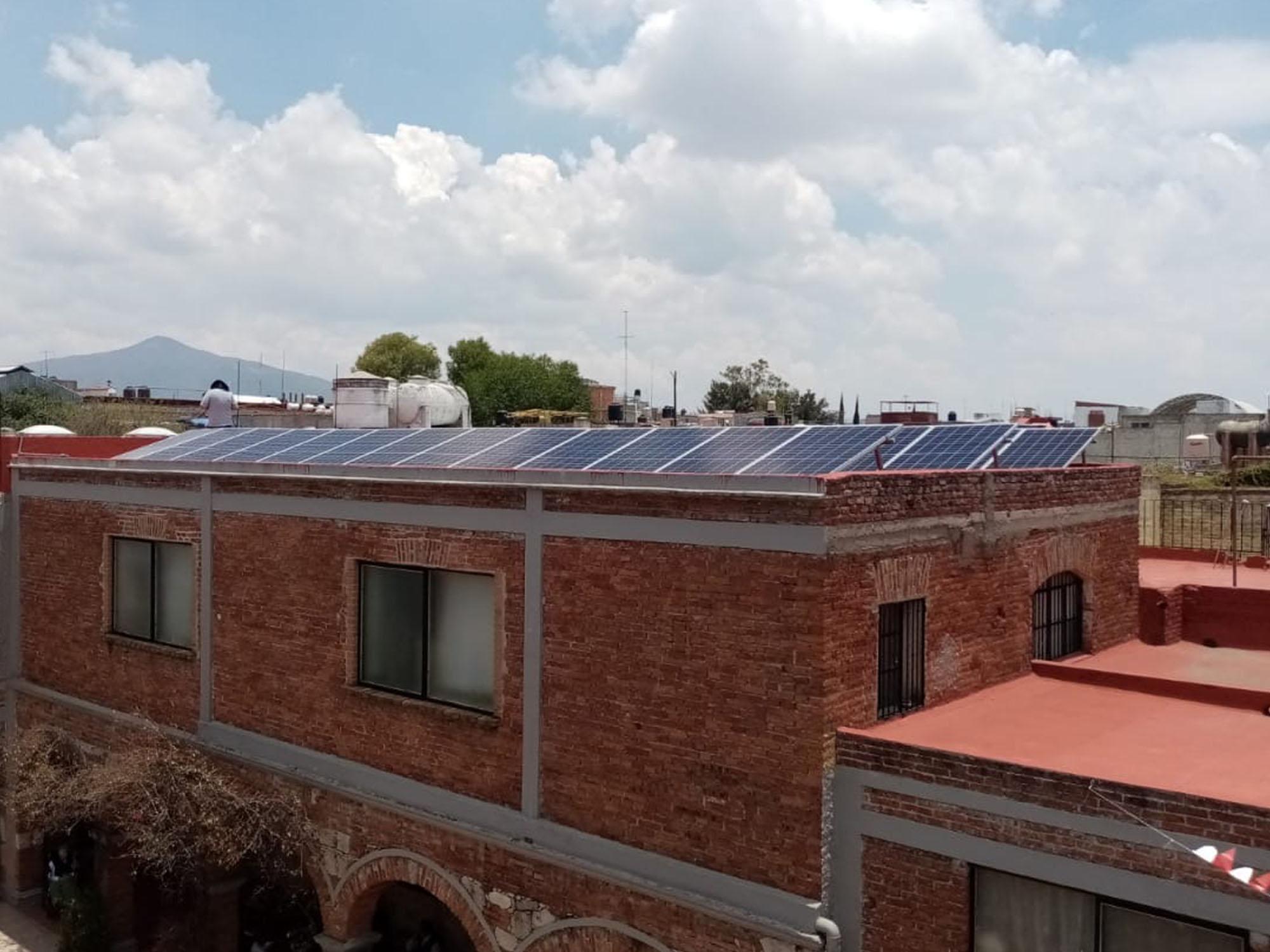 Instalacion paneles solares mexico